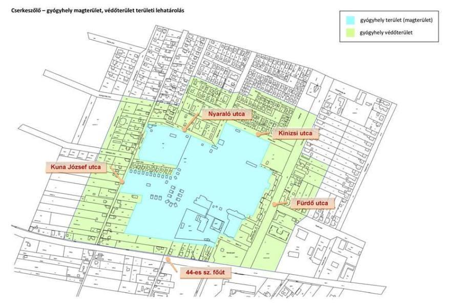 térkép cserkeszőlő és környéke Gyógyhely lett Cserkeszőlő – díjnyertes fürdő környéke viselheti a